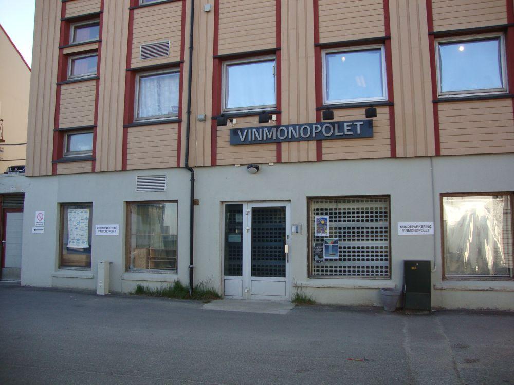Plakat Nordlandreise Vinmonopolet