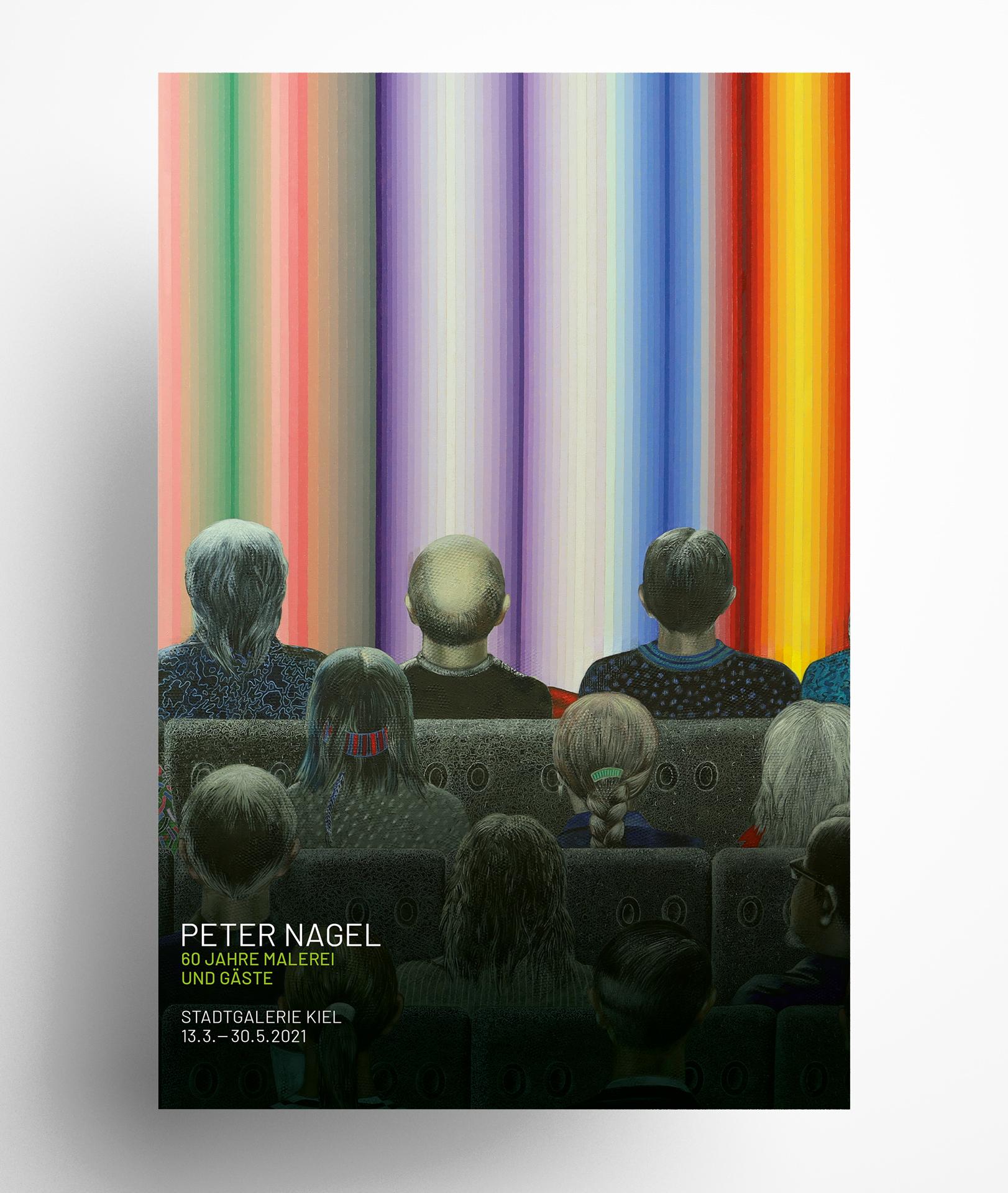 Peter Nagel, Kunstbetrachtung II [Detail], 2019/20